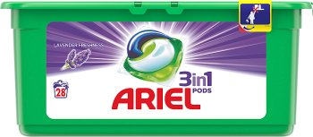 Ariel Lavender 3 w 1 Kapsułki do prania