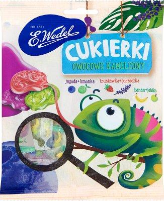 E. Wedel Cukierki owocowe kameleony