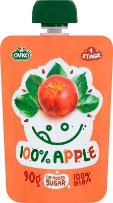 Ovko Ekologiczny przecier  jabłko BIO