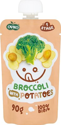 Ovko Ekologiczny przecier brokuł,ziemniak BIO