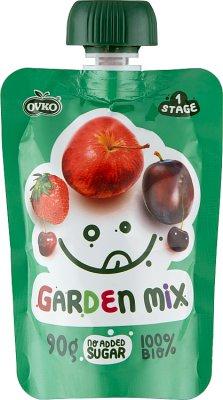 Ovko Ekologiczny przecier  mix owoców BIO