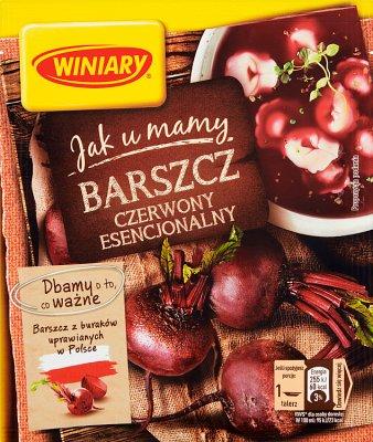 Winiary Jak u Mamy Barszcz czerwony esencjonalny