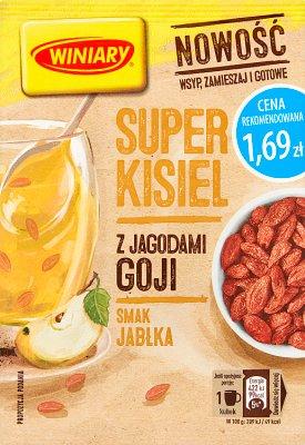 Winiary Super kisiel smak jabłka z jagodami goji