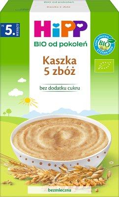 HiPP Kaszka 5 zbóż BIO