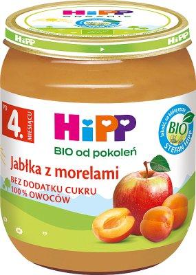 HiPP Jabłka z morelami  BIO