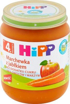 Hipp Marchewka z jabłkiem BIO
