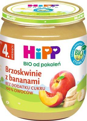 Hipp Brzoskwinie z bananami BIO