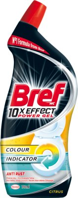 Bref 10 x Effect Żel do WC Anti Rust Citrus