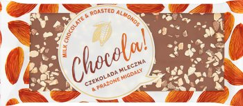 Terravita Chocola! Czekolada mleczna & prażone migdały