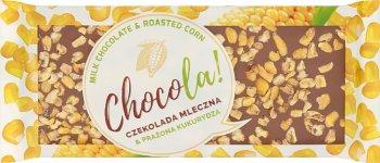 Terravita Chocola! Czekolada mleczna & prażona kukurydza