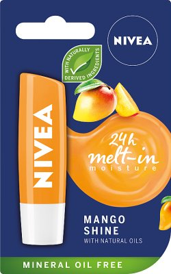 Nivea Pielęgnująca pomadka do ust  Mango Shine