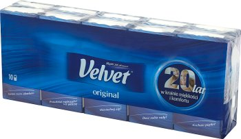 Velvet Original Chusteczki higieniczne 3-warstwowe