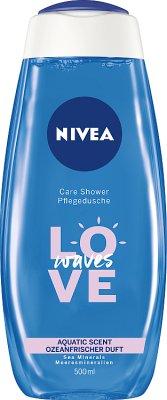 Nivea Love Żel pod prysznic Aquatic Sea Minerals