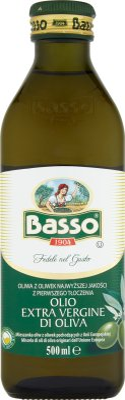 Basso Oliwa z oliwek  najwyższej jakości z pierwszego tłoczenia