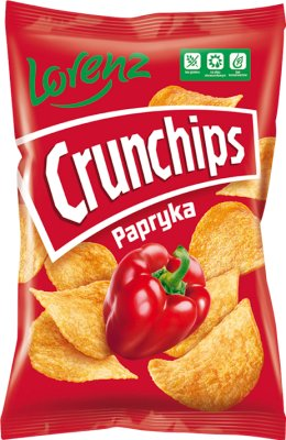 Crunchips Chipsy ziemniaczane o smaku papryka