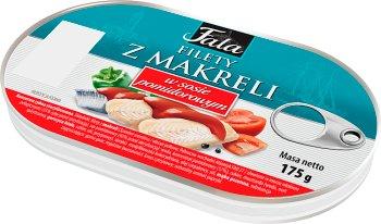 Fala Filety z makreli  w sosie pomidorowym