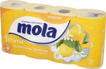 Mola Fresh Aroma Papier toaletowy Słoneczna Cytryna
