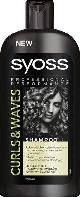 Syoss Curls & Waves Szampon wygładzający do włosów kręconych i falowanych