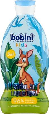 Bobini Szampon, żel pod prysznic i płyn do kąpieli 3w1 Super Bohater