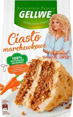 Gellwe Naturalnie Pyszne Ciasto marchewkowe