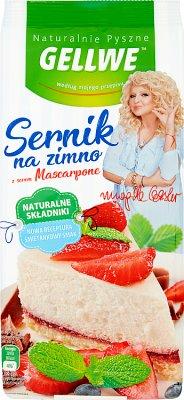 Gellwe Naturalnie Pyszne Sernik na zimno z serem Mascarpone