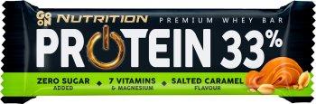 Sante Go On! Baton proteinowy 33% słony karmel
