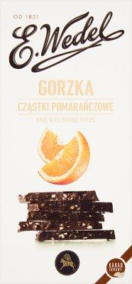 E. Wedel Czekolada gorzka z cząstkami pomarańczowymi