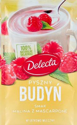 Delecta Pyszny Budyń smak malina z mascarpone