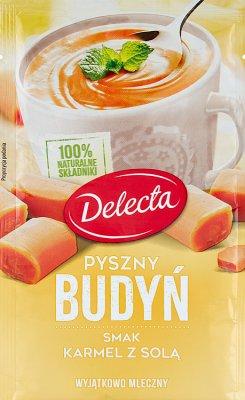Delecta Pyszny budyń smak karmel z solą