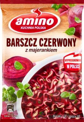 Amino Zupa błyskawiczna barszcz czerwony z majerankiem