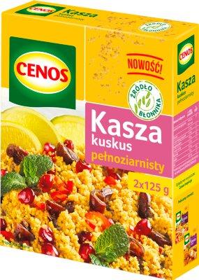 Cenos Kasza kuskus pełnoziarnisty 2x125 g