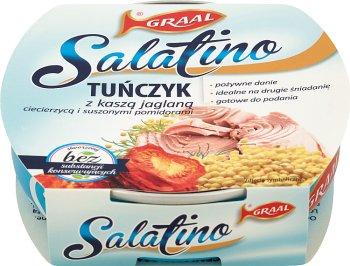 Graal Salatino Tuńczyk  z kaszą jaglaną ciecierzycą i suszonymi pomidorami