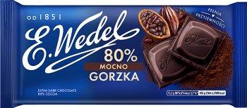 E. Wedel Czekolada mocno gorzka 80%