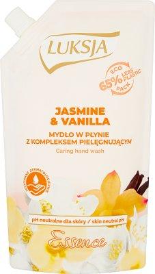 Luksja Essence Mydło w płynie zapas Jasmine & Vanilla
