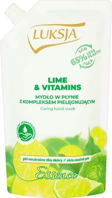 Luksja Essence Liquid soap Lime & Vitamins stock