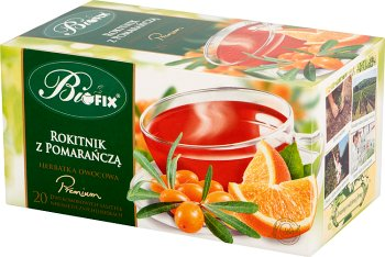 Bifix Premium Herbatka owocowa rokitnik z pomarańczą