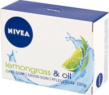 Nivea Lemongrass & Oil. Осторожное мыло в лодыжке