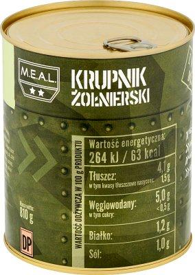 M.E.A.L Krupnik żołnierski
