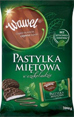 Wawel Mint Pastell in Schokolade