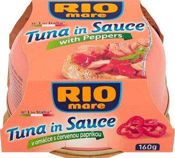 Rio Mare Tuńczyk w sosie z papryką