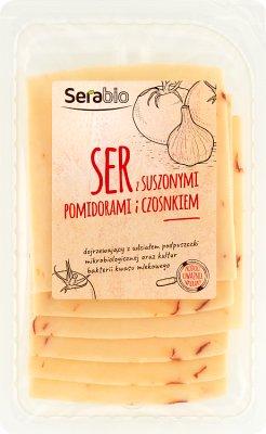 Serabio Ser z suszonymi pomidorami  i czosnkiem