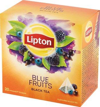 Lipton Herbata czarna aromatyzowana o smaku owoców jagodowych