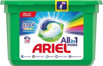 Ariel Touch Of Lenor Fresh 3 w 1 Kapsułki do prania Color