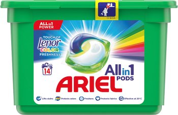 Ariel Touch Of Lenor Fresh 3 w 1 Kapsułki do prania Color