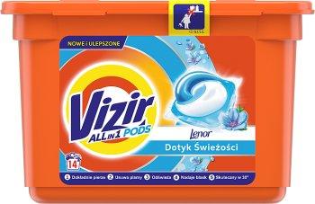 Vizir Touch Of Lenor Freshness  Kapsułki do prania 3 in 1