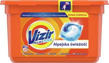 Vizir Alpine Fresh Kapsułki do prania 3 in 1