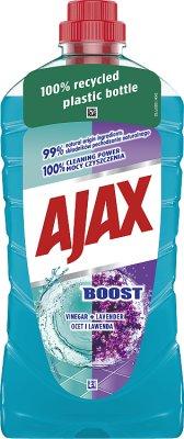 Ajax Płyn uniwersalny Boost  ocet + lawenda