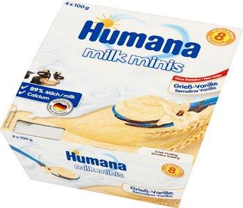 Humana Milk Minis Deserek mleczny  kaszka waniliowa