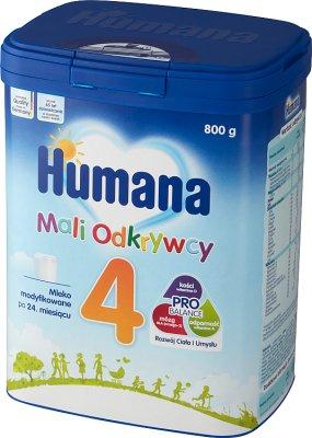 Humana 4 Mleko modyfikowane