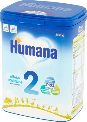 Humana 2 Mleko następne